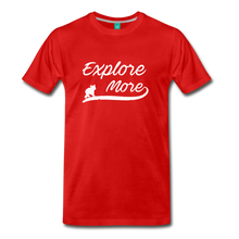 Load image into Gallery viewer, Men's Explore More T-Shirt - red