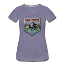 Load image into Gallery viewer, Women's Wander T-Shirt - washed violet