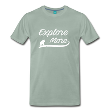Load image into Gallery viewer, Men's Explore More T-Shirt - steel green