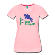 Load image into Gallery viewer, Women's Just Jump It T-Shirt - pink