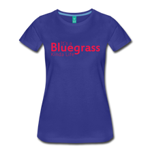 Load image into Gallery viewer, Women's Bluegrass Kinda Life T-Shirt - royal blue