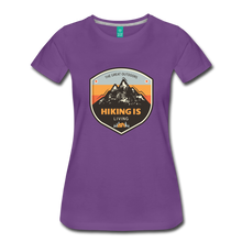 Load image into Gallery viewer, Women's Hiking T-Shirt - purple