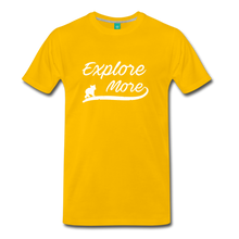 Load image into Gallery viewer, Men's Explore More T-Shirt - sun yellow