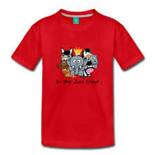Load image into Gallery viewer, Toddler In the Zoo Crew T-Shirt - red