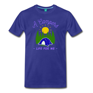 Men's Campers Life T-Shirt - royal blue