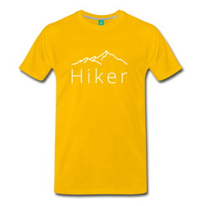 Men's Hiker T-Shirt - sun yellow