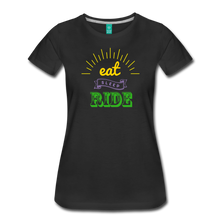 Load image into Gallery viewer, Women's Eat Sleep Ride T-Shirt - black