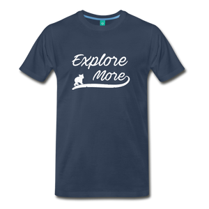 Men's Explore More T-Shirt - navy