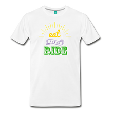 Load image into Gallery viewer, Men's Eat Sleep Ride T-Shirt - white