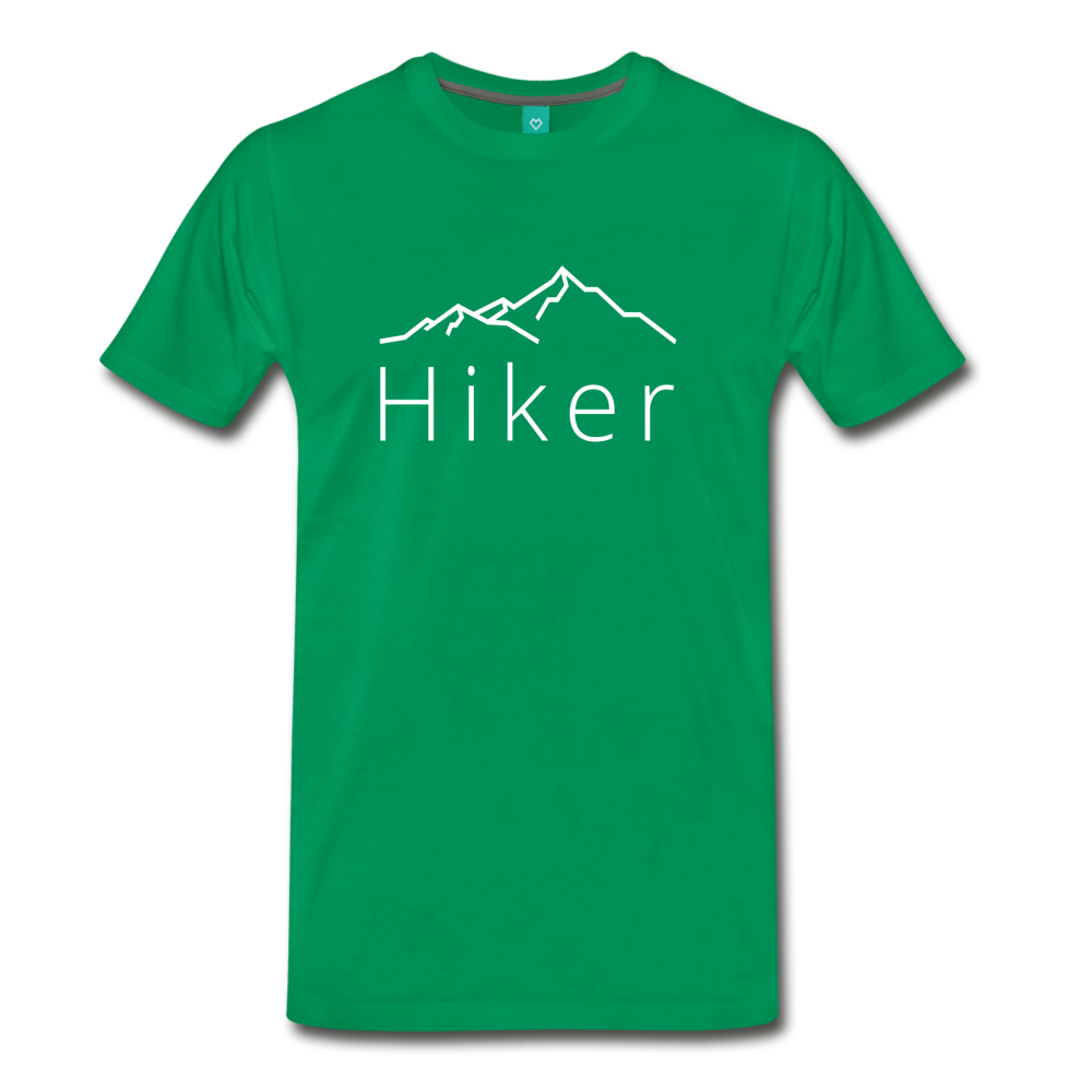 Men's Hiker T-Shirt - kelly green