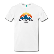 Load image into Gallery viewer, Mountain Life Shirt - white