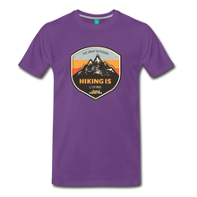 Load image into Gallery viewer, Men's Hiking T-Shirt - purple