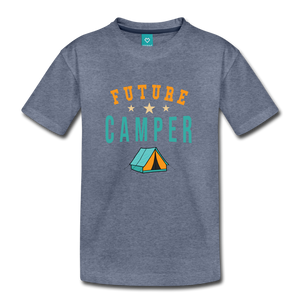Toddler Future Camper T-Shirt - heather blue