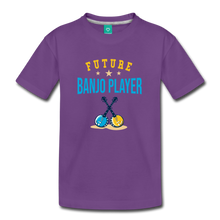 Load image into Gallery viewer, Kids' Future Banjo Player T-Shirt - purple