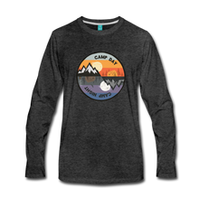 Load image into Gallery viewer, Men's Camp Day Long Sleeve Shirt - charcoal gray