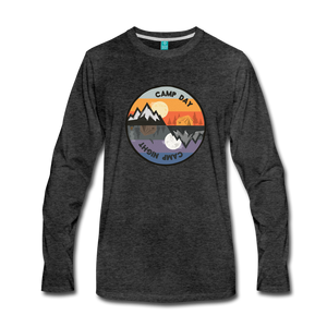 Men's Camp Day Long Sleeve Shirt - charcoal gray