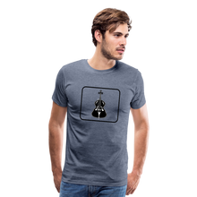 Load image into Gallery viewer, Men's Upright Bass  Icon T-Shirt - heather blue