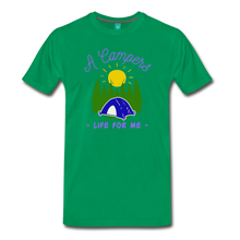 Load image into Gallery viewer, Men's Campers Life T-Shirt - kelly green