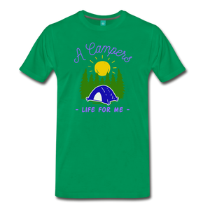 Men's Campers Life T-Shirt - kelly green