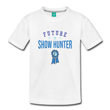 Load image into Gallery viewer, Toddler Future Show Hunter T-Shirt - white