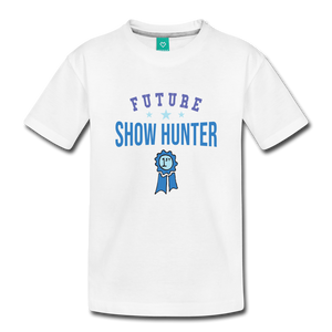 Toddler Future Show Hunter T-Shirt - white