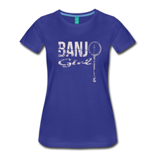 Load image into Gallery viewer, Women's Banjo Girl T-Shirt - royal blue
