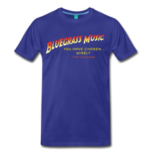 Load image into Gallery viewer, Men's Bluegrass Chosen Wisely T-Shirt - royal blue
