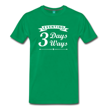 Load image into Gallery viewer, Men's 3 Days 3 Ways T-Shirt - kelly green