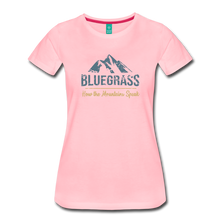 Load image into Gallery viewer, Women's Bluegrass Mountains Speak T-Shirt - pink