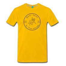 Load image into Gallery viewer, Men's Best Seat in the House T-Shirt - sun yellow
