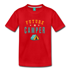 Toddler Future Camper T-Shirt - red