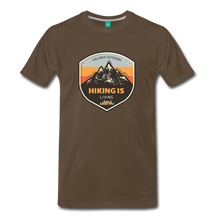 Load image into Gallery viewer, Men's Hiking T-Shirt - noble brown