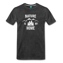 Load image into Gallery viewer, Men's Nature T-Shirt (white) - charcoal gray