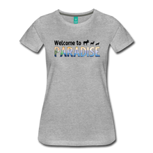 Load image into Gallery viewer, Women's Welcome to Paradise T-Shirt - heather gray