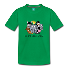 Load image into Gallery viewer, Toddler In the Zoo Crew T-Shirt - kelly green