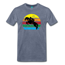 Load image into Gallery viewer, Men's Jumping Sun T-Shirt - heather blue