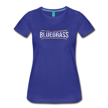 Load image into Gallery viewer, Women's Bluegrass T-Shirt - royal blue