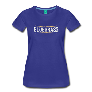 Women's Bluegrass T-Shirt - royal blue