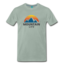Load image into Gallery viewer, Mountain Life Shirt - steel green