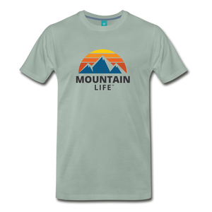 Mountain Life Shirt - steel green