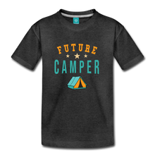 Load image into Gallery viewer, Toddler Future Camper T-Shirt - charcoal gray