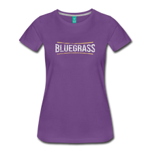 Load image into Gallery viewer, Women's Bluegrass T-Shirt - purple