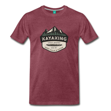 Load image into Gallery viewer, Men's Kayaking T-Shirt - heather burgundy