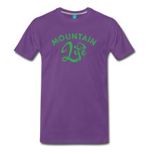 Load image into Gallery viewer, Men's Mountain Life (script) T-Shirt - purple