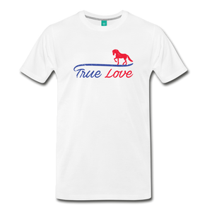 Men's True Love T-Shirt - white