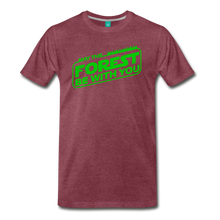 Load image into Gallery viewer, Men's May the Forest be with You T-Shirt - heather burgundy