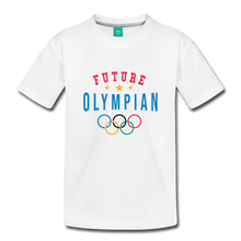 Load image into Gallery viewer, Toddler Future Olympian T-Shirt - white