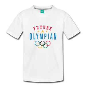 Toddler Future Olympian T-Shirt - white