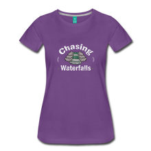 Load image into Gallery viewer, Women's Chasing Waterfalls T-Shirt - purple