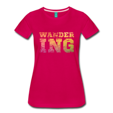 Load image into Gallery viewer, Women's Wandering T-Shirt - dark pink